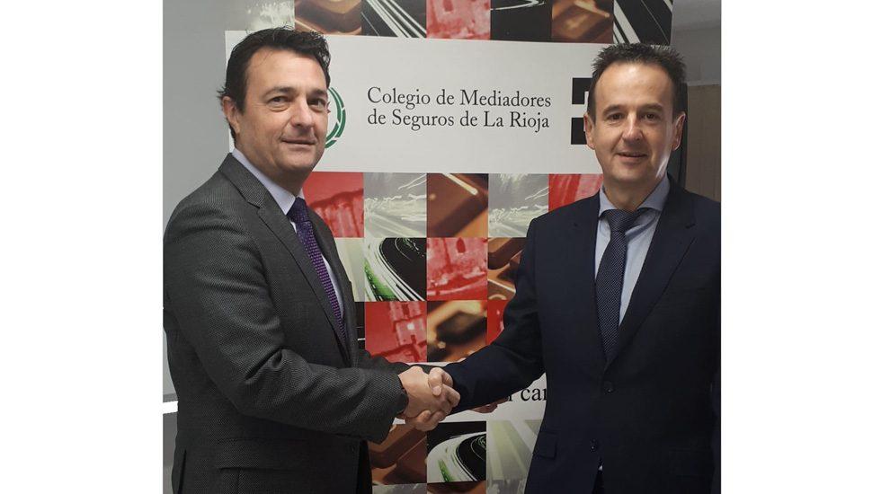 Mutuavenir firma un convenio de colaboración con el Colegio de Mediadores de Seguros de La Rioja