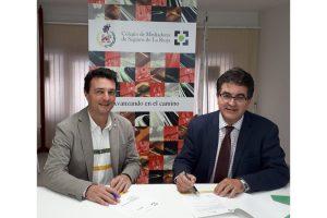 La firma de este acuerdo, presidida por Javier Miguel López y Javier Ramón Puga