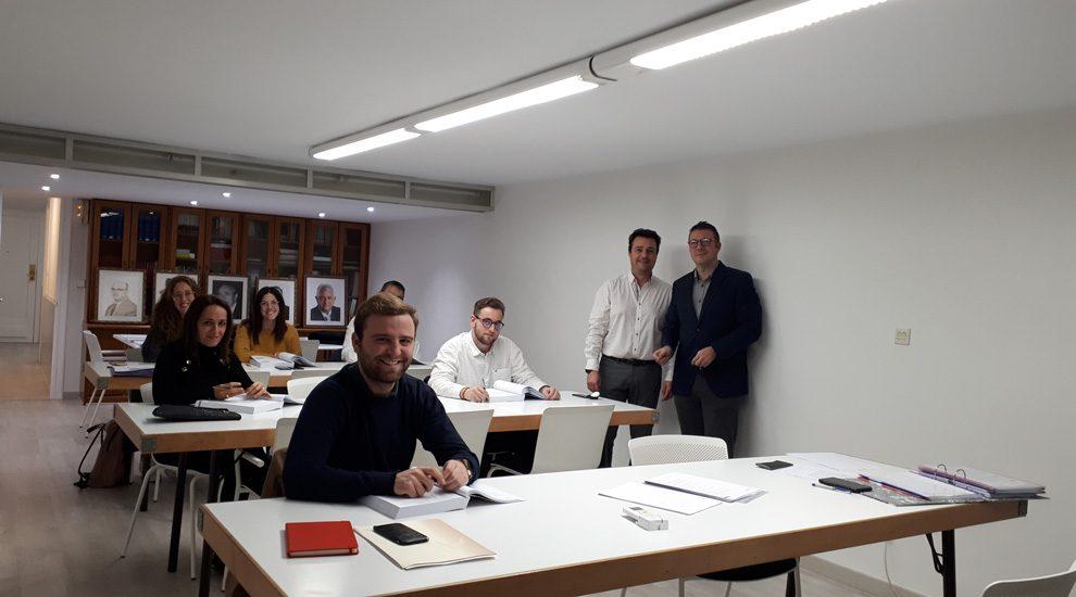 El Colegio de La Rioja en colaboración con el CECAS ha iniciado una nueva edición del Curso Superior de Seguros