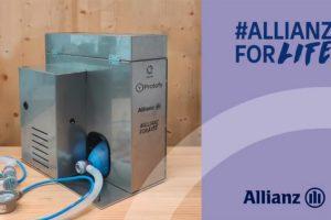 Allianz y Protofy se unen para llevar oxígeno a todo el mundo