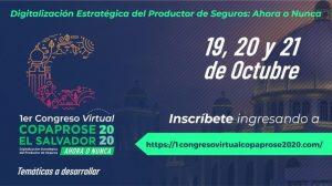 I Congreso Virtual El Salvador COPAPROSE 2020 - 4ª Master Class COPAPROSE 2020