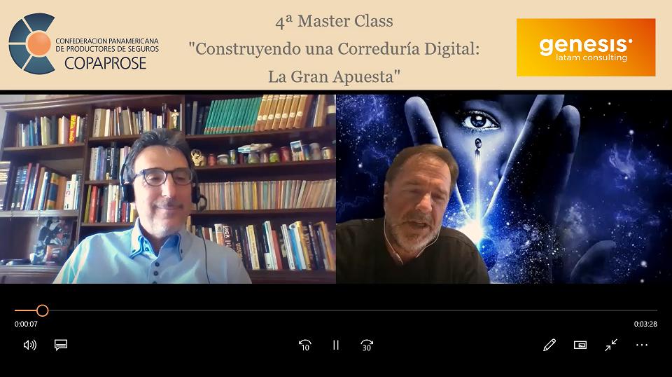 """• 4ª Master Class: """"Construyendo una Correduría Digital: La Gran Apuesta"""""""