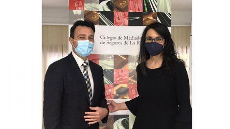Renovación del acuerdo de colaboración con Allianz y el Colegio de La Rioja