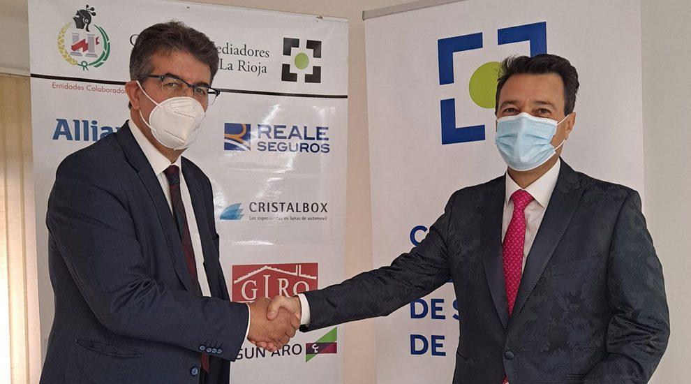 Reale Seguros y el Colegio de Mediadores de La Rioja renuevan su colaboración